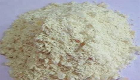 High temperature mortar refractory dry ramming mass for furnace burden